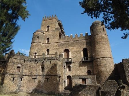 The Castle of King Fasilidas in Gondar